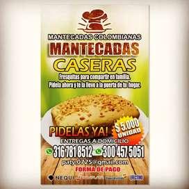 MANTECADAS CASERAS