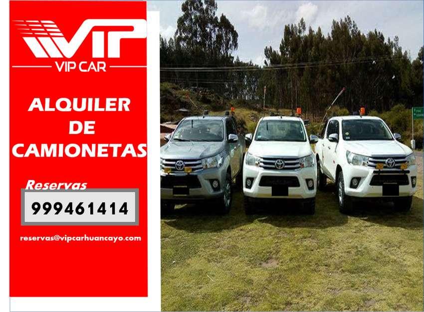 ALQUILER DE CAMIONETAS 4X4 , CAMIONETAS CERRADAS SUV Y AUTOS EN HUANCAYO, JAUJA AEROPUERTO, JUNÍN, OROYA 0