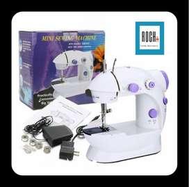 Mini maquina de coser portátil