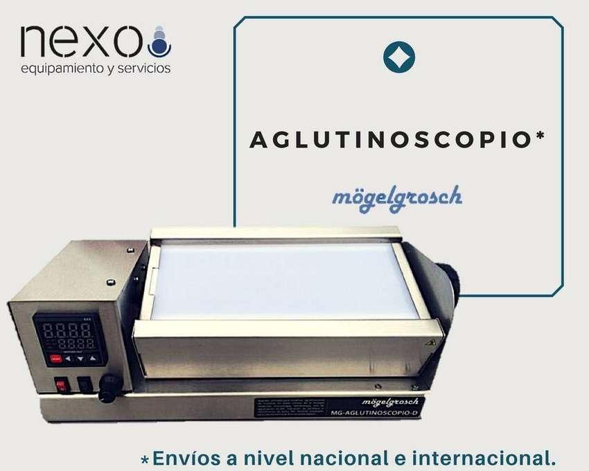 Aglutinoscopio para test aglutinación Elisa 0
