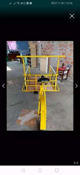Vendo triciclo sin uso