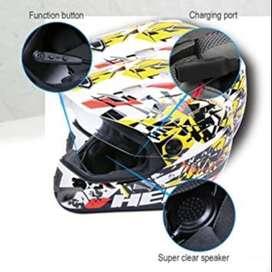 Auricular inalámbrico Bluetooth 4.1 para Casco de Motocicleta