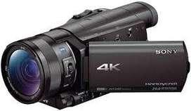 Filmadora Sony FDRAX100 4K