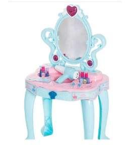 Tocador Infantil Princesa Mesita De Maquillaje Sonido Y Luz