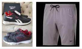 Reebok oferta 2 tenis. Lite Plus 2 + 3D Ultralite plus 2 + pantaloneta Workout Ready Shorts