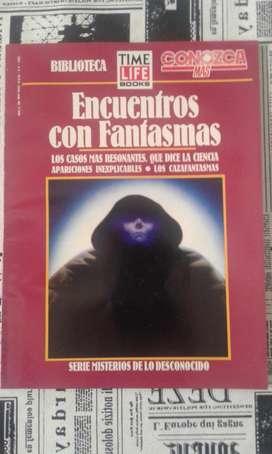 Revista Conozca Mas Biblioteca Time Life Encuentros Con Fantasmas