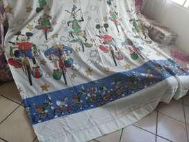 Hermosas cortinas infantil