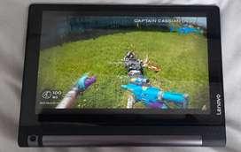 Impecable como nueva hermosa tablet Lenovo yoga tab 3, de 10 pulgadas, se entrega con caja, cargador, vidrio y estuche