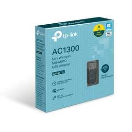 Tp-link, Tarjeta Usb Wifi Banda Dual Ac1300, Archer T3u