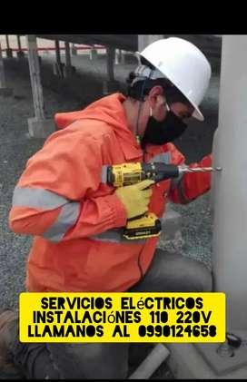 Tecnico ELECTRICISTA profesional atención en todo Guayaquil, puntilla y sam2
