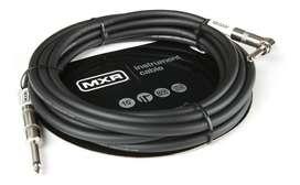 Cable Guitarra Bajo Plug Plug Mxr DUNLOP 3 Metros Ficha L Angulo