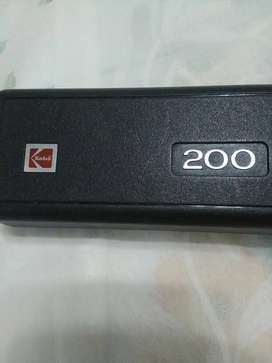 Cámara fotográfica Kodak Ektra 200-22 mm