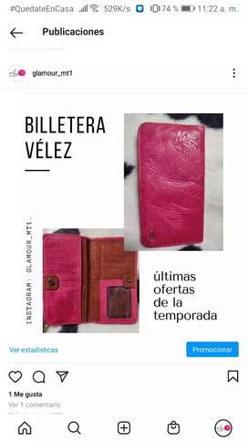 Billeteras Velez