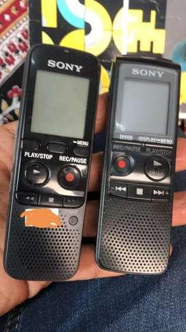 Grabadoras de Voz Sony