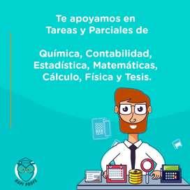 Buscas tutores en Matematicas, Contabilidad, Estadistica, Tesis, Calculo, Fisica, Quimica. rapiprofe es para ti