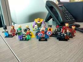Figuras tipo LEGO