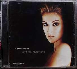 Celine Dion Lets Talk About Love Cd Sony 1997 Excelente