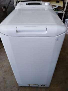 vendo lavarropa candy carga superior 8kg de capacidad impecable estado sin detalles