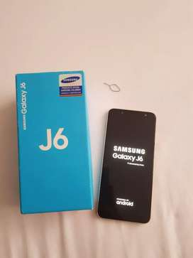 Vendo celular Galaxy j6