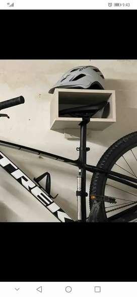 Vendo soportes en Madera para bicicleta, recupera espacios y decora tu casa