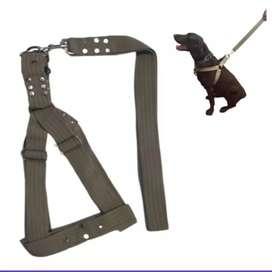 Arnés XL Perro grande - Verde Militar