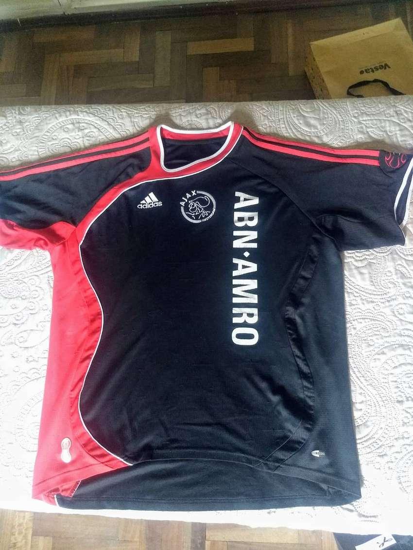 3 Camisetas de fútbol de  Ajax 0