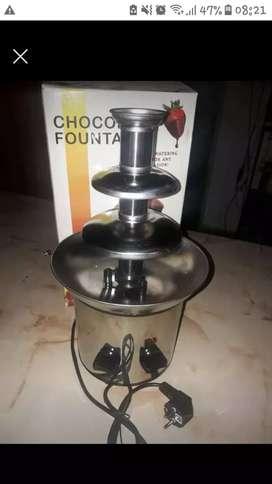 VENDO NUEVA cascada de chocolate
