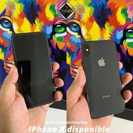 Iphone X de 64gb disponible en color negro