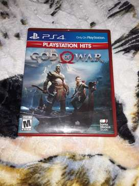 Vendo juego de Ps4, God of War 4