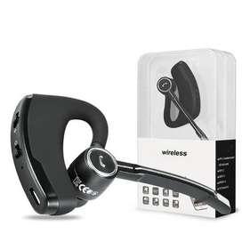 Audifono Manos Libres Bluetooth Cancelación Ruido V8S + Audifono Auxiliar