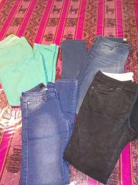 jeans usado lote