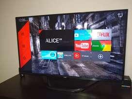 """Tv LG SMART 50"""" Como Nuevo, con plásticos, incluye manual, 4 gafas y magic control"""