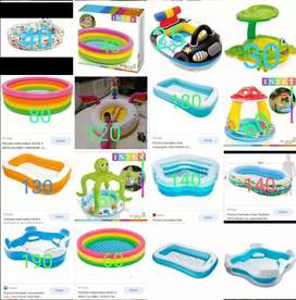 Se venden piscinas inflables intex