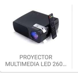 Proyector 2600 lumenes