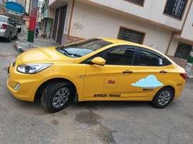 Ganga espectacular taxi modelo 2019 hyundi accent