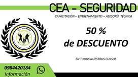 CURSOS ONLINE DE SEGURIDAD Y FORMACIÓN PERSONAL