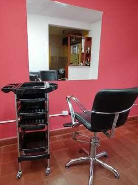 Equipamiento peluquería