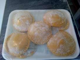 Deditos y pastelitos deliciosos