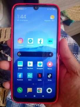 Ocasión Xiaomi Redmi 7  con cargador estado 9 de 10 gran memoria y ram aprovechen mejores cámaras y procesador  todo