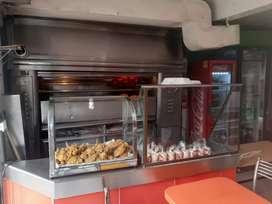 Se vende asadero ubicado en barrio santa Inés