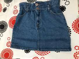 Falda de jean Nueva