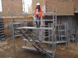 Se Aquila Andamios Normados y Maquinarias de construcción