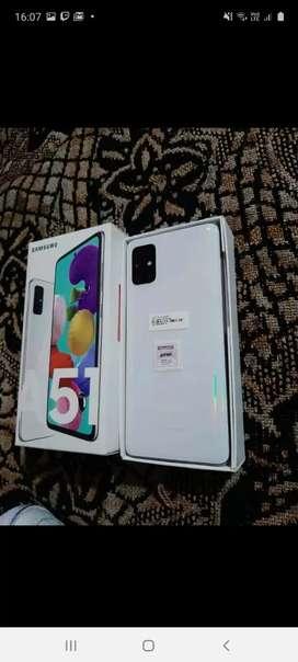Vendo Samsung a51 menos de una semana de uso