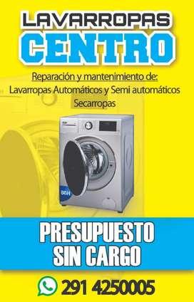 Servicio Técnico de Lavarropas automático y semiautomáticos.