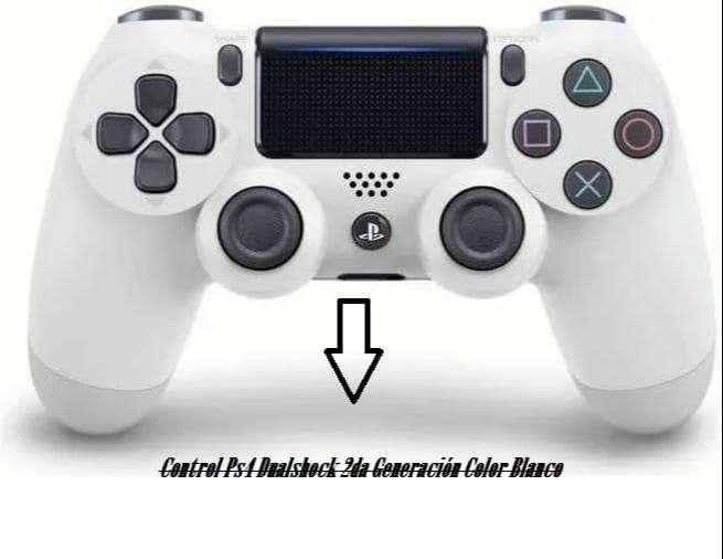 Control Ps4 Dualshock 2da Generación Color Blanco