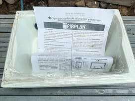 Caja lavadora policuarzo