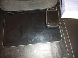 Vendo tablet + teléfono