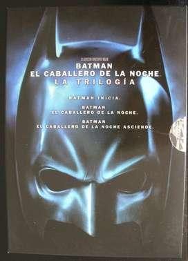 Batman, El caballero de la noche Trilogia completa.