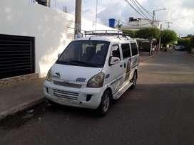 Placa Publica Chevrolet N300  7 Puestos