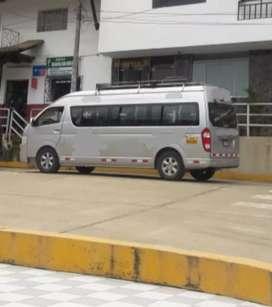 Minivan 20 pasajeros